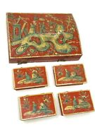 Time Louis Xv Boxset In Tokens Set Quadrille And Choose Chinese And 18th -andegraveme