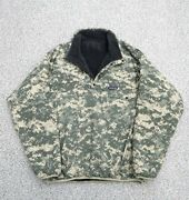2008 Reversible Snap-t Special Digital Camouflage Menand039s Fleece Rare