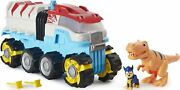 Paw Patrol, Dino Rescue Dino Patroller Motorized Team Vehicle With Exclusive ...