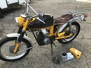 Rear Fender Vintage Yamaha Yl2 Trail Bike Motorcycle More Parts Avail