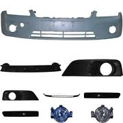 Set Kit Bumper Front For Ford Focus Ii Year 04-08 + Carrier+accessories+fog