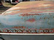 67 Galaxie 500 Quarter Panel Letters And Numbers Set 1967