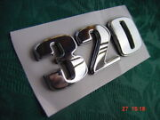 Sea Ray Boat 320 Or 230 Emblem New Chrome With Peel And Stick Backing