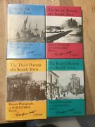 Rare Books On Whitstable Signed By Douglas West Charlie Chester Autograph