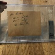 Jack Purvis Kenny Baker Signed Star Wars Autograph Authenticate Beckett