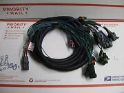 Western Fisher Snow Plow 3 Port Light Wiring Harness 29499 Hb-3 And H11 Headlights