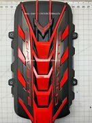 Fits Chevy Corvette Stingray C8 Engine Cover Decal 2020 2021 2022 - Red