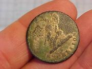 Original Early Ny State Military Excelsior Eagle Uniform Button