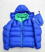 Goose Down Jacket Menand039s Size L 90s Vintage Masterpiece Down Sweater