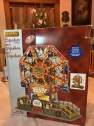 Lemax Victorian Flyer Ferris Wheel Sights And Sounds Michaels Exclusive Retired