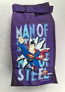 Rare Vintage 1996 Superman Man Of Steel Soft Lunchbox Insulated Bag By Thermos