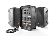 Jbl Professional Eon208p Portable All-in-one 2-way Pa System With Bluetooth