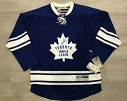 George Armstrong Signed Toronto Maple Leafs Jersey - Size Large - Leafs Captain