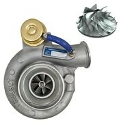 Rct Replacement Turbocharger With Billet Wheel For 00-02 Ram 5.9l Cummins Manual