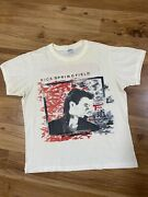 Vintage Rick Springfield 1985 50/50 Band Tour Concert T-shirt Tee Fits Small S