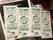 1990's Randall Cunningham Show Vip Ticket Philadelphia Eagles Extremely Rare