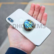 Sale 20 Pcs Lot, Bulk Phone Stand, Labradorite Grip, Mount For Iphone Android
