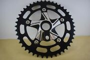 Sugino Crown Maxi Cross Chainring Chainwheel And Spider Bmx Old School 44t 80s Nos