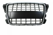 Front Sport Grill M-4453 Audi A3 8p S8-style Chrome-black 2009-2012 Pdc
