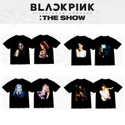 Blackpink Official Goods The Show Photo T-shirts + Tracking Number