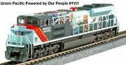 Kato 1768412 N Sd70ace Union Pacific Powered By Our People 1111 176-8412