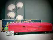 American Flyer No. 651 S Scale Red New Haven Railway Express Agency Car O.b.