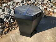 Outdoor Custom Products 18 Hexagon Fire Pit With Grill-top - American Flag