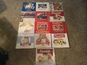 Lot 13 Vintage Campbell Soup Kids Wall Calendar And Collectibles Catalogs 1991-03
