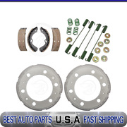 Raybestos Rear Brake Drums And Brake Shoes And Hardware Kit For 2012 Isuzu Reach New