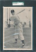 Rare Sgc Good+ 1954 All-star Photo Pack Mickey Mantle Graded 2.5 Gd Plus Tphlc