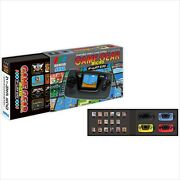 Game Gear Micro Pins And Collection Box 4 Color Set And Big Window Japan F/s New