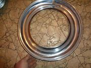 1949 Plymouth Nos Trim Ring Small Ding Hubcap Nos 1142852 B