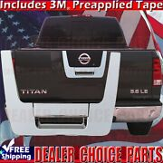 For 2004-2012 Nissan Titan Triple Chrome Tailgate Handle Cover Overlay Accent