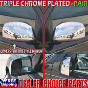 For 2005-2021 Nissan Frontier 2005-2015 Xterra Chrome Mirror Covers Overlays