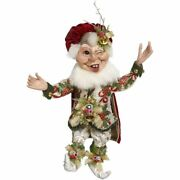Mark Roberts 2020 Collection Sparkling Deco Elf Figurine Medium 17and039and039