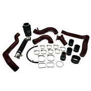 2004.5-2005 Lly Duramax High Flow Intake Bundle Package Wcfab Red Two Stage Powd