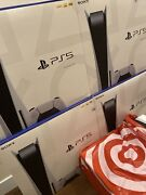 Sony Playstation 5 Ps5 Console Standard Disc Version - New In Hand Ships Today