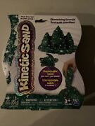 Kinetic Squeezable Play Sand 1lb Shimmering Emerald Never Dries Out Green