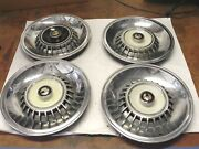 1964 Chyrsler Imperial Hubcap Wheel Covers Set Of 4 Used Nice