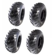 22x10-10 22x10x10 Tire Wheel 10 Rim 250cc Atv Quad Gokart Taotao [ Set Of 4 ]