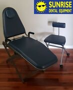 Portable Dental Chair Package W/ Stool And Heavy Duty Carrying Case