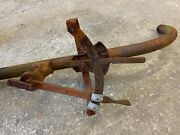 Farmall Cub Tractor Steering, Throttle And Hydraulic Control Lever Assembly