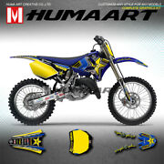 Mx Graphics Custom Stickers Vinyl Decal Kit For Yamaha Yz125 Yz250 2002 To 2014