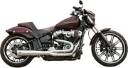 S And S Cycle 21 50 State Exhaust For M8 Softail Chrome 550-0847b