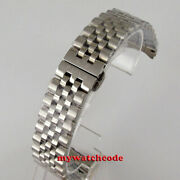 20mm 316l Solid Stainless Steel Parnis Bracelet Fit 36mm Parnis Watch Case