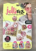 Nib- Jelli Rez - Sweets Jewelry Pack - Quick And Easy Diy Craft Activity Kit