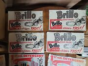Vintage Brillo Pads Advertising Sign Aluminum8 Signs