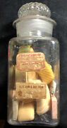 Antique Glass Apothecary Jar Labels 1888 Pharmaceuticals Science And Medicine