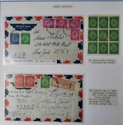 Israel Collection 1948-1994 Extensive Collection W/tabs 6 Vols Scott 3968