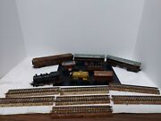 Vintage Metal Marklin Germany Engine, Cars And Track Very Old More Pics Avail.